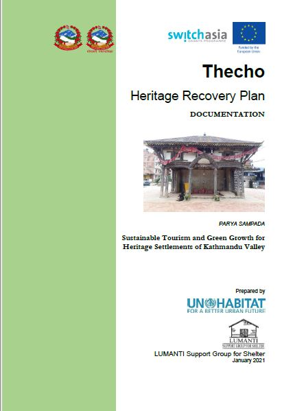 Documentation of Thecho Heritage Recovery Plan